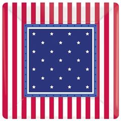 Stars & Stripes  7'' Plates