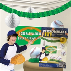 Baseball Decorating Kit