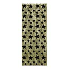 GOLD & BLACK   STAR DOOR CURTAIN