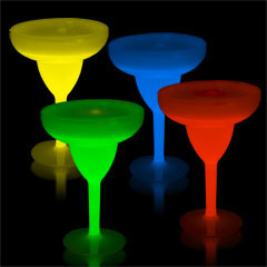 MARGARITA GLOW  10 oz. CUP   (Available in 5 colors)