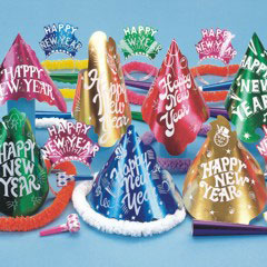 Wild New Year Party Kit / Celebrate the New Year with this colorful animal print party kit.
