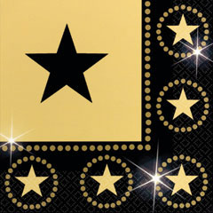 STAR ATTRACTION   LUNCHEON NAPKINS