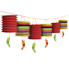 FIESTA LANTERNS  CEILING DECORATION