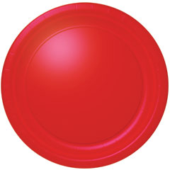 RED SOLID  10 1/2