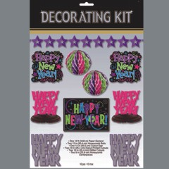 HAPPY NEW YEAR   DECORATING KIT