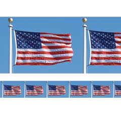 WAVING FLAGS   BORDER ROLL