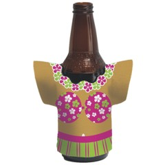Hula Girl Drink Holder