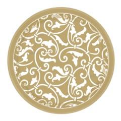 Gold Scroll 7