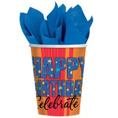 CELEBRATE BIRTHDAYS   9 oz. CUPS