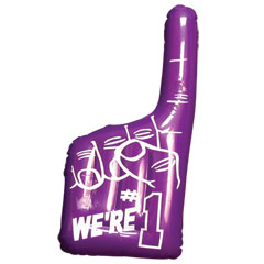 Purple #1 Inflatable Hands
