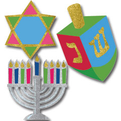 HANUKKAH DECORATING KIT