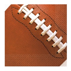 FOOTBALL FAN BEVERAGE NAPKINS