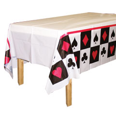 CARD NIGHT TABLE COVER