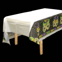 MARDI GRAS MAGIC TABLE COVER
