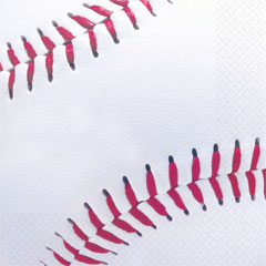BASEBALL FAN LUNCH NAPKINS