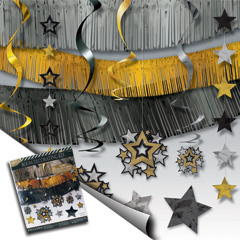 HOLLYWOOD STAR ROOM DECORATING KIT