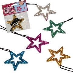 STAR METALLIC NECKLACES