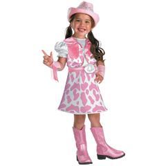 Wild West Cutie Toddler Child Costume