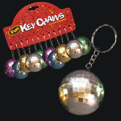 Mirror Ball  Disco Keychains