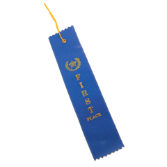 1st PLACE BLUE RIBBON